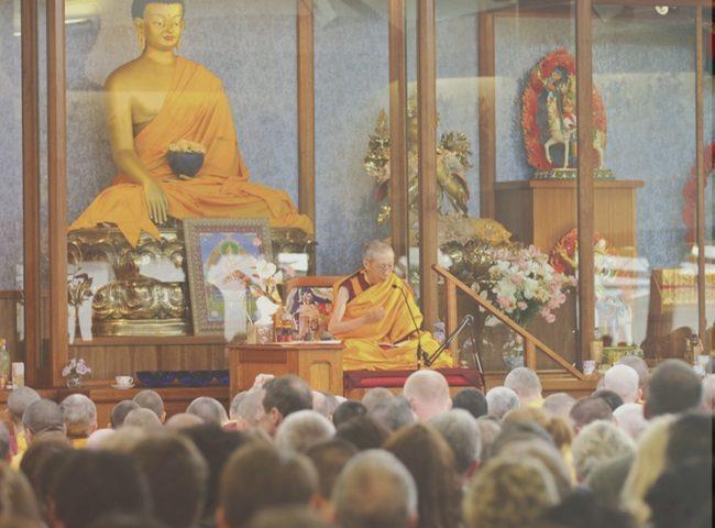 Geshe Kelsang Gyatso Unterweisung