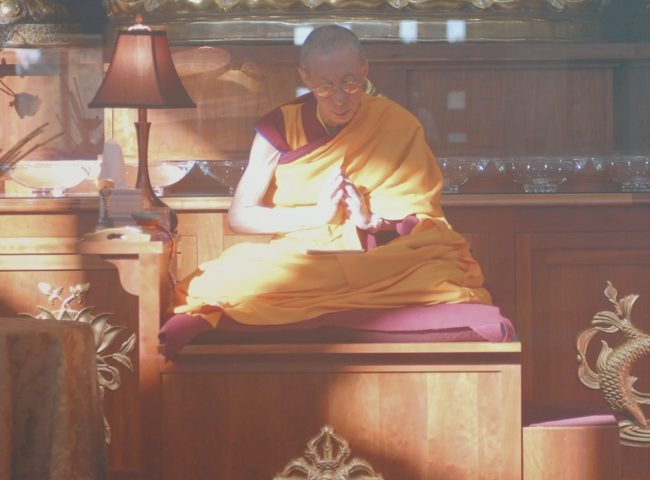 Geshe Kelsang Gyatso Meditation